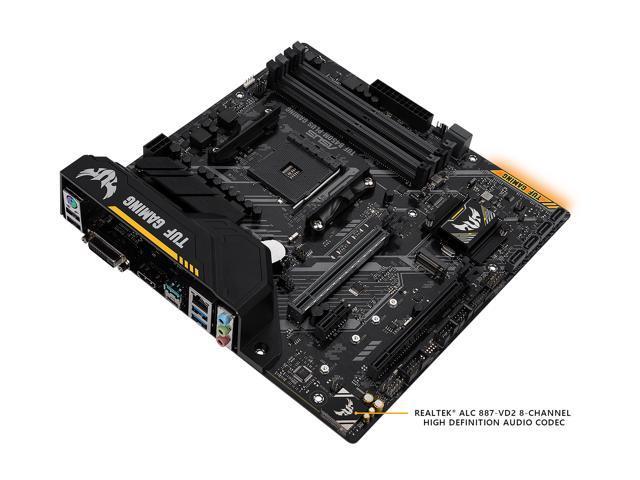 ASUS TUF B450M-PLUS GAMING AM4 Micro ATX AMD Motherboard - Newegg com