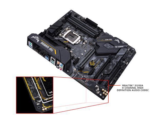 ASUS TUF Z390-Pro Gaming Motherboard LGA1151 (Intel 8th and 9th Gen) ATX  DDR4 HDMI M 2 USB 3 1 Gen2 Gigabit LAN - Newegg com