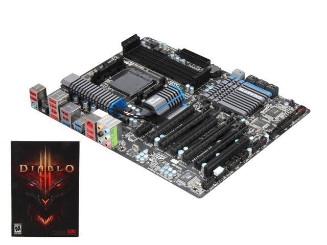 GIGABYTE GA-990FXA-UD5 AM3 AMD 990FX SB950 SATA 6Gb//s USB 3.0 ATX AMD Board