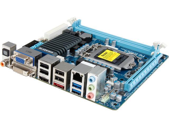 GIGABYTE GA-H61N-USB3 LGA 1155 Intel H61 HDMI USB 3 0 Mini ITX Intel  Motherboard - Newegg com