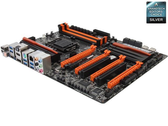 GIGABYTE GA-Z87X-OC LGA 1150 ATX Intel Motherboard