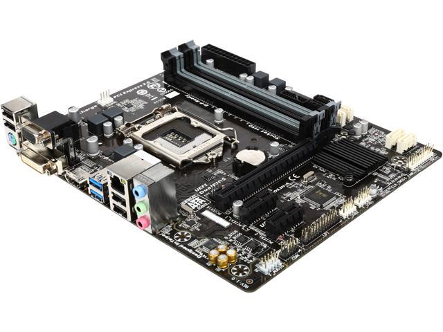Used - Very Good: GIGABYTE GA-B85M-DS3H-A LGA 1150 Micro ATX Intel  Motherboard - Newegg com