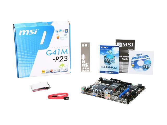 G41M-P23 LAN DRIVER FOR MAC DOWNLOAD