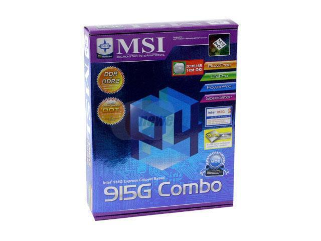 MSI 915PG COMBO WINDOWS DRIVER