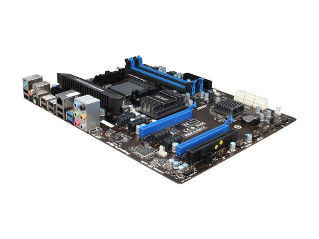 MSI 990XA-GD55 AM3+ AMD 990X + SB950 SATA 6Gb/s USB 3.0 ATX AMD ...