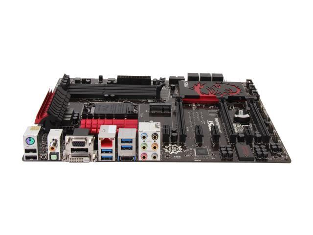 MSI Z87-G45 Gaming LGA 1150 ATX Pro Gaming with Killer Networking & Sound  Blaster Intel Motherboard - Newegg com