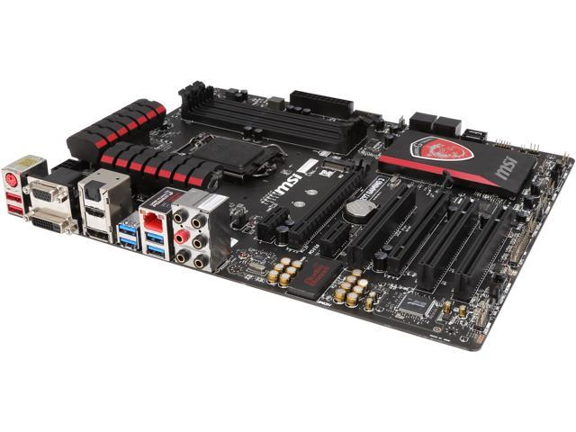 Used - Very Good: MSI Z97-Gaming 3 LGA 1150 ATX Intel Motherboard -  Newegg com