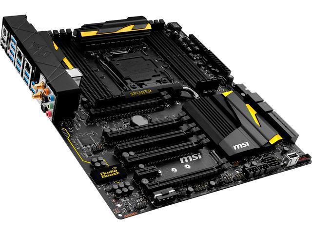 MSI X99S XPOWER AC LGA 2011-v3 Extended ATX Intel Motherboard - Newegg com