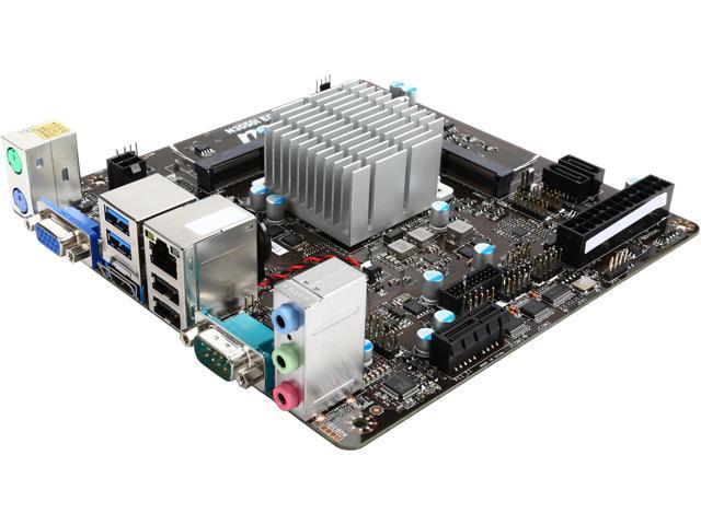 MSI N3050I ECO Intel N3050 Dual Core 6W Mini ITX Motherboard/CPU Combo -  Newegg ca