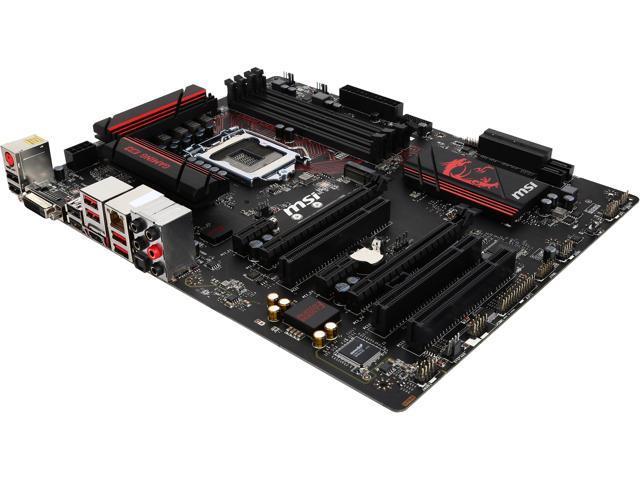 MSI MSI Gaming H170 Gaming M3 LGA 1151 Intel H170 HDMI ...