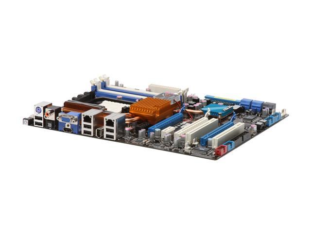 ASUS Crosshair II Formula AM2+/AM2 NVIDIA nForce 780a SLI HDMI ATX AMD  Motherboard - Newegg com