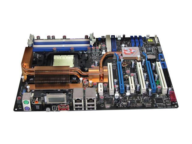 ASUS CROSSHAIR AM2 NVIDIA nForce 590 SLI MCP ATX AMD Motherboard -  Newegg com