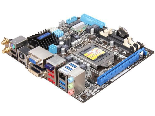 Motherboard for ASUS  P8H67-I Deluxe LGA 1155  Mini-itx 17*17 WIFI  bluetooth
