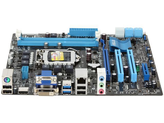Original  ASUS P8H67-M LX Intel H67 Motherboard LGA 1155//socket H2 DDR3