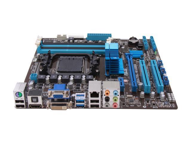 ASUS M5A78L-M/USB3 AM3+ AMD 760G + SB710 USB 3 0 HDMI uATX AMD Motherboard  - Newegg com