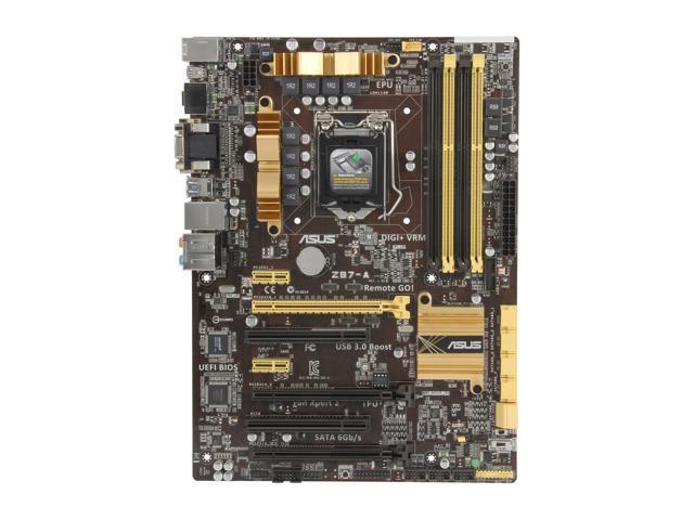 ASUS Z87-A LGA 1150 Intel Z87 HDMI SATA 6Gb/s USB 3 0 ATX Intel Motherboard  - Newegg com
