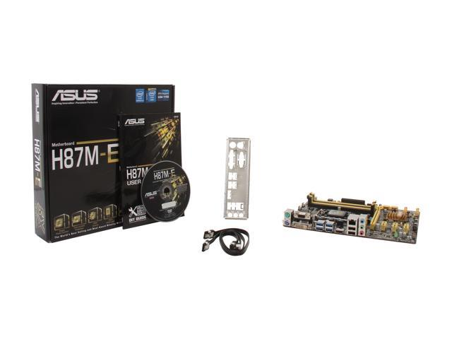 Asus H97-PLUS Motherboard HDMI SATA 6Gb//s USB 3.0 With i7-4770s Cpu Combo
