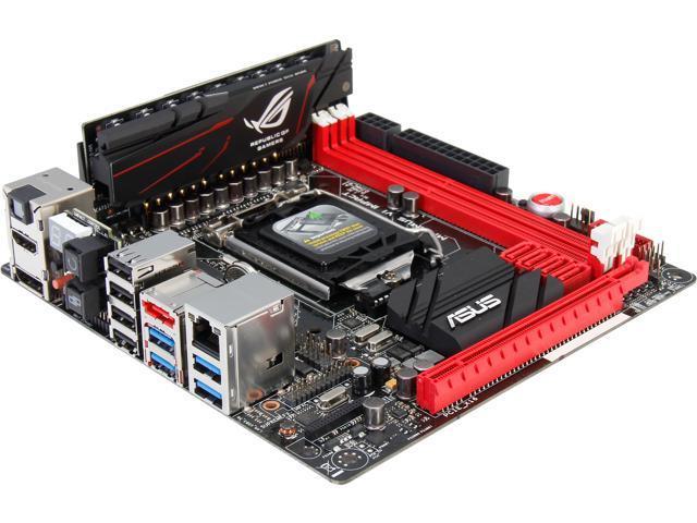 ASUS MAXIMUS VI IMPACT LGA 1150 Mini ITX Intel Motherboard - Newegg com