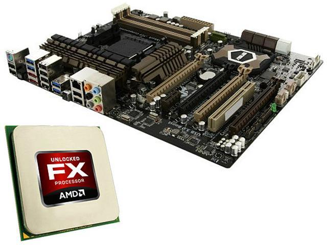Amd Fx 8320 3 5ghz 4 0ghz Turbo Cpu And Asus Sabertooth 990fx