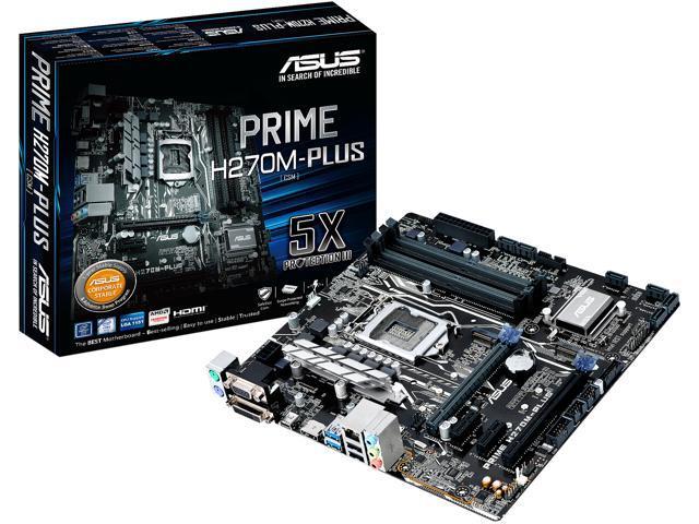 ASUS PRIME H270M-PLUS LGA 1151 Intel H270 HDMI SATA 6Gb s USB 3.1 37dffd2345d