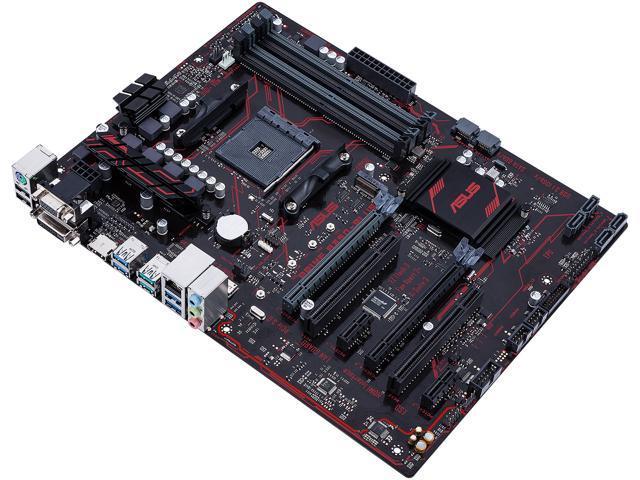 ASUS PRIME B350-PLUS AM4 ATX Motherboards - AMD - Newegg com