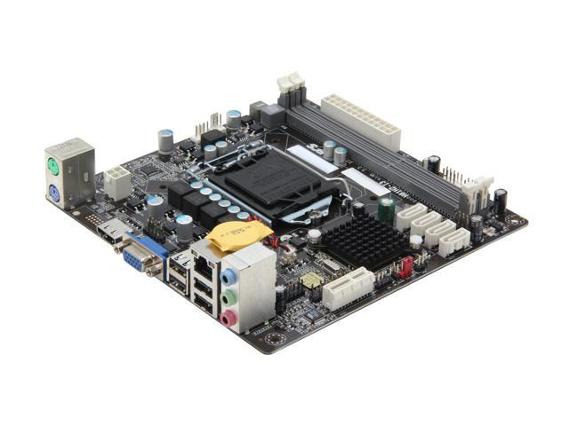 ECS H61H2-I3 (v1 0) LGA 1155 Intel H61 HDMI Mini ITX Intel Motherboard -  Newegg com