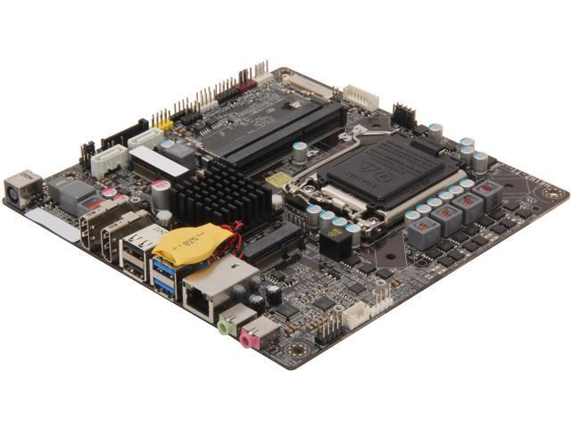 ECS H61H2-TI LGA 1155 Mini ITX Intel Motherboard - Newegg com
