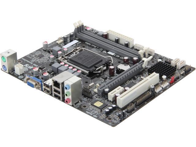 ECS H61H2-M13 (V2 0) LGA 1155 Micro ATX Intel Motherboard