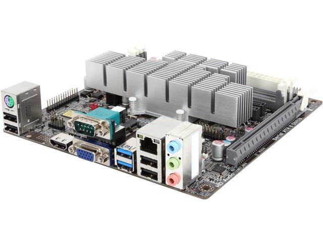 ECS KBN-I/2100 (V1 1) AMD E1-2100 Dual Core processor Mini ITX  Motherboard/CPU/VGA Combo - Newegg com