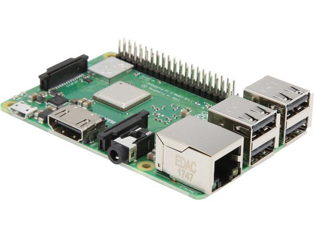 Raspberry Pi 3 B+ Motherboard Element14 - Newegg com