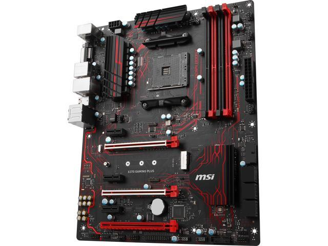 MSI PERFORMANCE GAMING X370 GAMING PLUS AM4 ATX AMD Motherboard - Newegg com