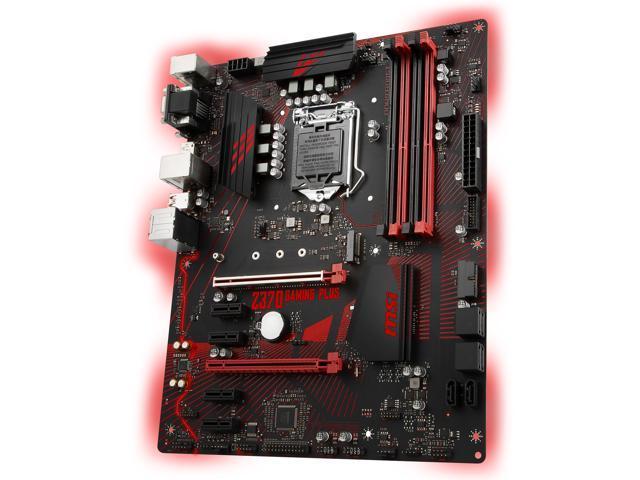 MSI Z370 GAMING PLUS LGA 1151 (300 Series) ATX Intel Motherboard -  Newegg com