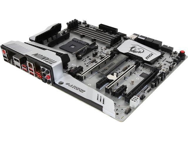 Refurbished: MSI ENTHUSIAST GAMING X370 XPOWER GAMING TITANIUM AM4 ATX AMD  Motherboard - Newegg ca