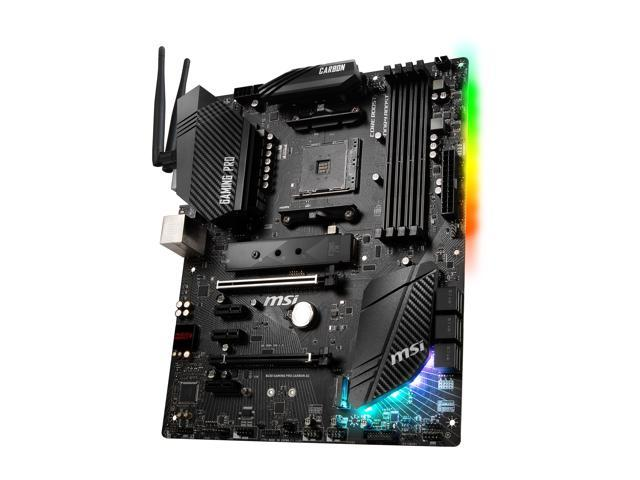 MSI PERFORMANCE GAMING B450 GAMING PRO CARBON AC AM4 ATX AMD Motherboard -  Newegg com