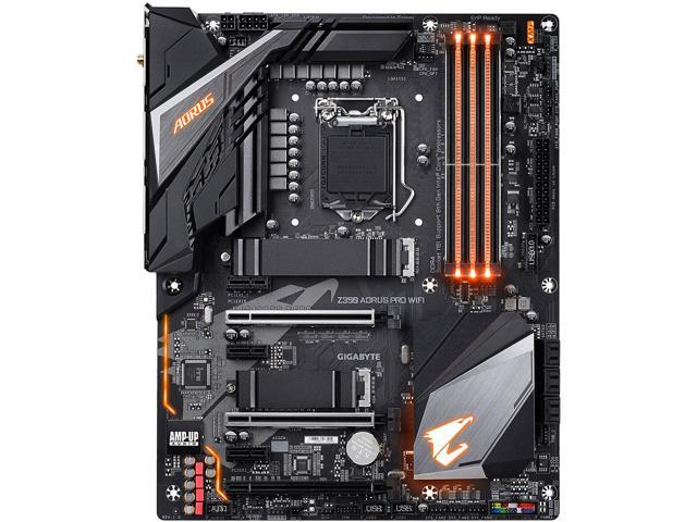 GIGABYTE Z390 AORUS PRO WIFI LGA 1151 (300 Series) ATX Intel Motherboard -  Newegg com