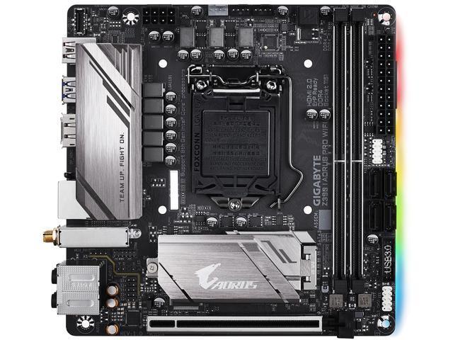 GIGABYTE Z390 I AORUS PRO WIFI LGA 1151 (300 Series) Mini ITX Intel  Motherboard - Newegg com