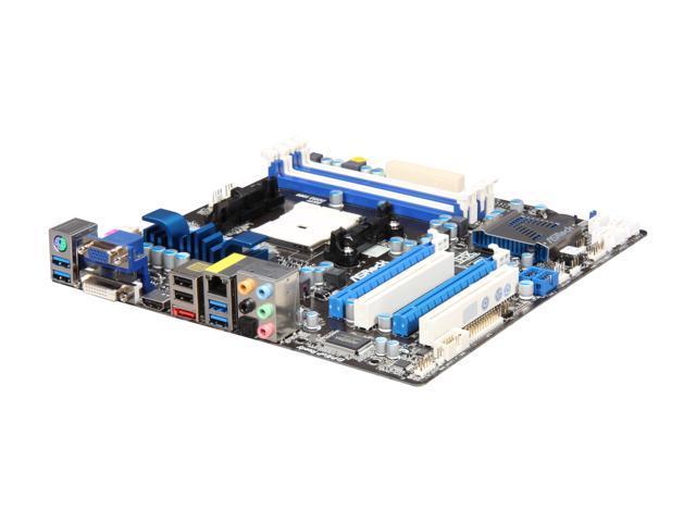 ASRock A75 PRO4-M FM1 AMD A75 (Hudson D3) SATA 6Gb/s USB 3 0 HDMI Micro ATX  AMD Motherboard with UEFI BIOS - Newegg com