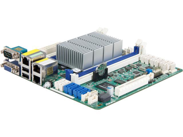 AsRock Rack C2750D4I Mini ITX Server Motherboard - Newegg com
