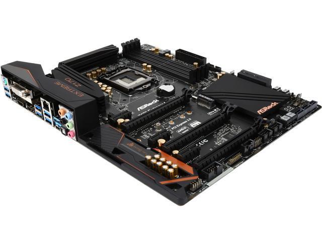 ASRock Z170 Extreme4 LGA 1151 ATX Intel Motherboard - Newegg com
