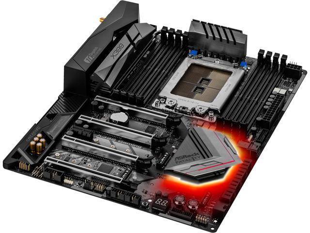 ASRock Fatal1ty X399 Professional Gaming sTR4 ATX AMD Motherboard -  Newegg com