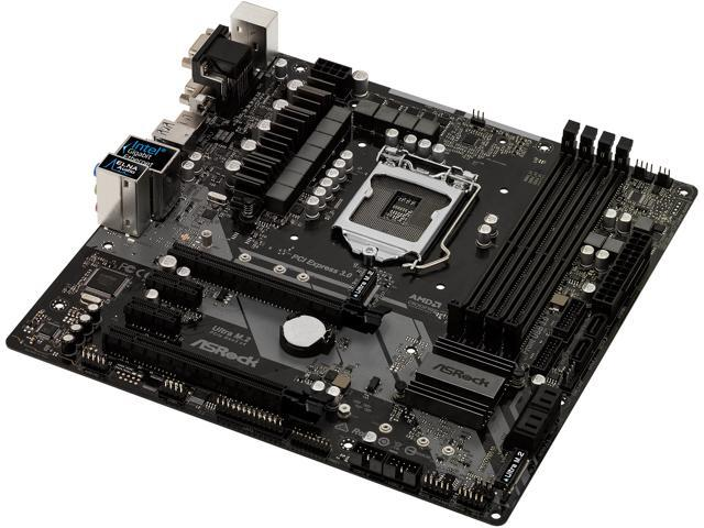 ASRock Z370M Pro4 LGA 1151 (300 Series) Micro ATX Intel Motherboard -  Newegg com