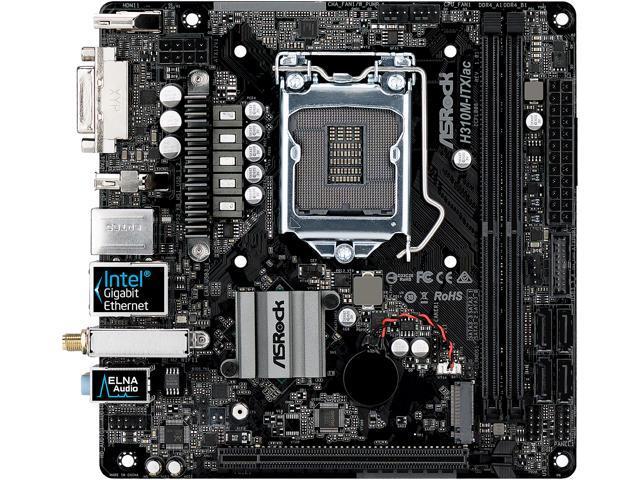 ASRock H310M-ITX/ac LGA 1151 (300 Series) Mini ITX Intel Motherboard -  Newegg ca