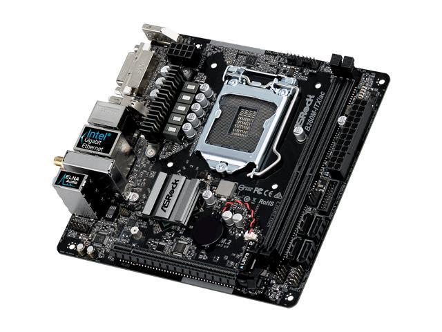 ASRock B360M-ITX/ac LGA 1151 (300 Series) Mini ITX Intel Motherboard -  Newegg com