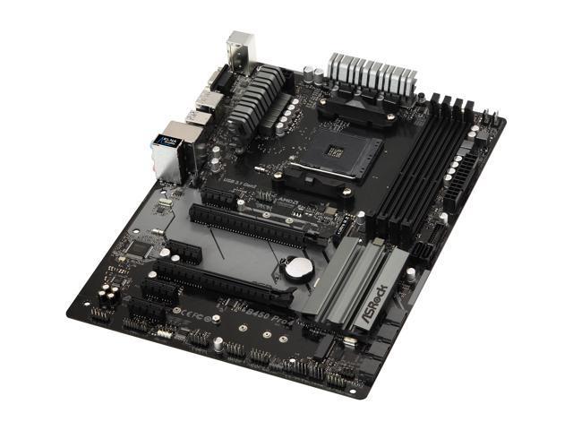 ASRock B450 PRO4 AM4 ATX AMD Motherboard - Newegg ca