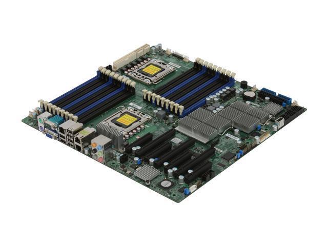 X8DAH-F Supermicro Dual Socket LGA 1366 DDR3 ATX Server Motherboard W// I//O Plate