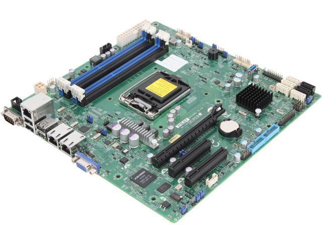 SUPERMICRO MBD-X10SLM-F-O uATX Server Motherboard - Newegg com