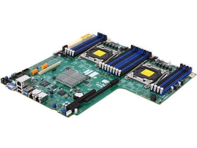 SUPERMICRO MBD-X10DDW-I-O Proprietary WIO Xeon Server Motherboard -  Newegg com
