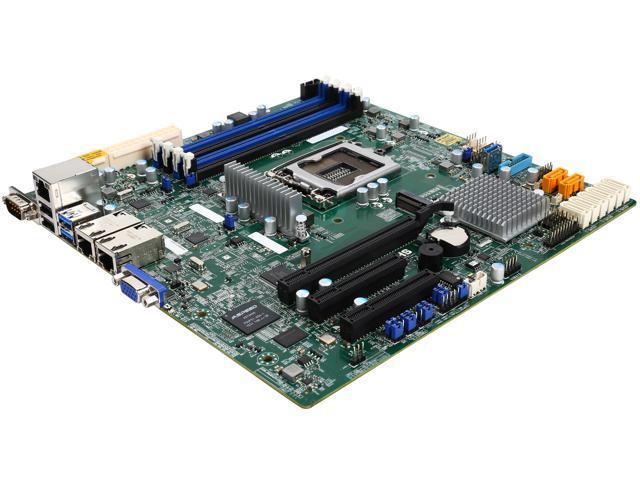SUPERMICRO MBD-X11SSH-F-O Micro ATX Server Motherboard - Newegg com