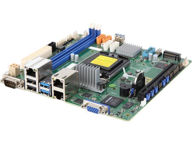 SUPERMICRO MBD-X11SCL-IF-O Mini ITX Server Motherboard - Newegg ca