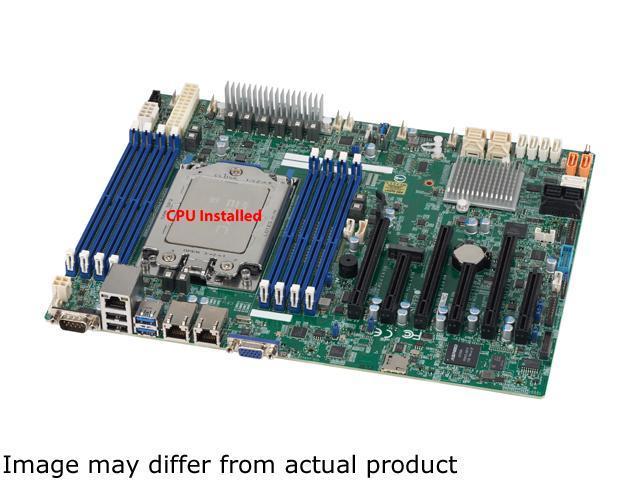 SUPERMICRO MBDH11SSL-NC w/ AMD EPYC 7551P 32-Core CPU Installed DDR4 ATX  Server Motherboard - Newegg com